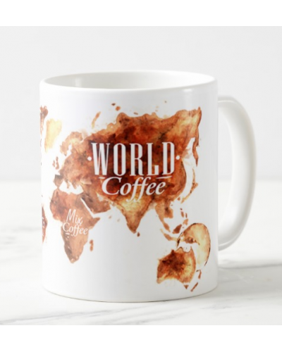 "Puodelis ""Coffee world"""