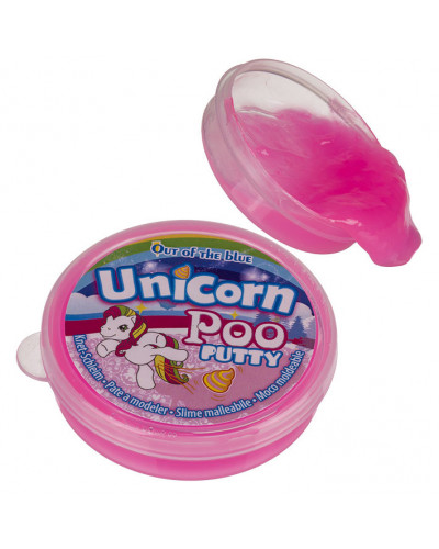 "Glitėsių indelis ""Unicorn Poo"""